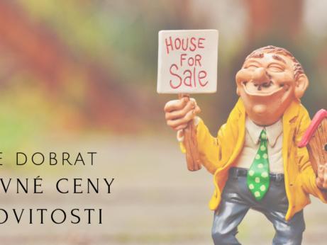 Jak se dobrat správné ceny nemovitosti